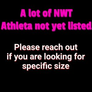 Feb 21st NWT Athleta new items being listed